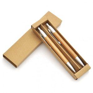 Conjunto-Caneta-e-Lapiseira-em-Bambu-300x300