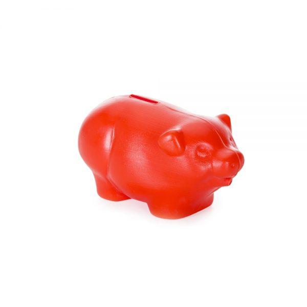 Cofre-Plastico-Porquinho-VERMELHO