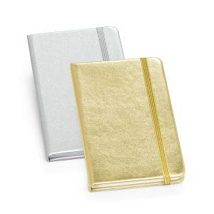 Caderno capa dura Atacado |Caderno capa dura. C. sintético. Com 80 folhas não pautadas. 90 x 140 mm